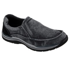 Men's Skechers Relaxed Fit: Expected Avillo Loafer Shoes, 64109 /BLK Siz... - $69.95