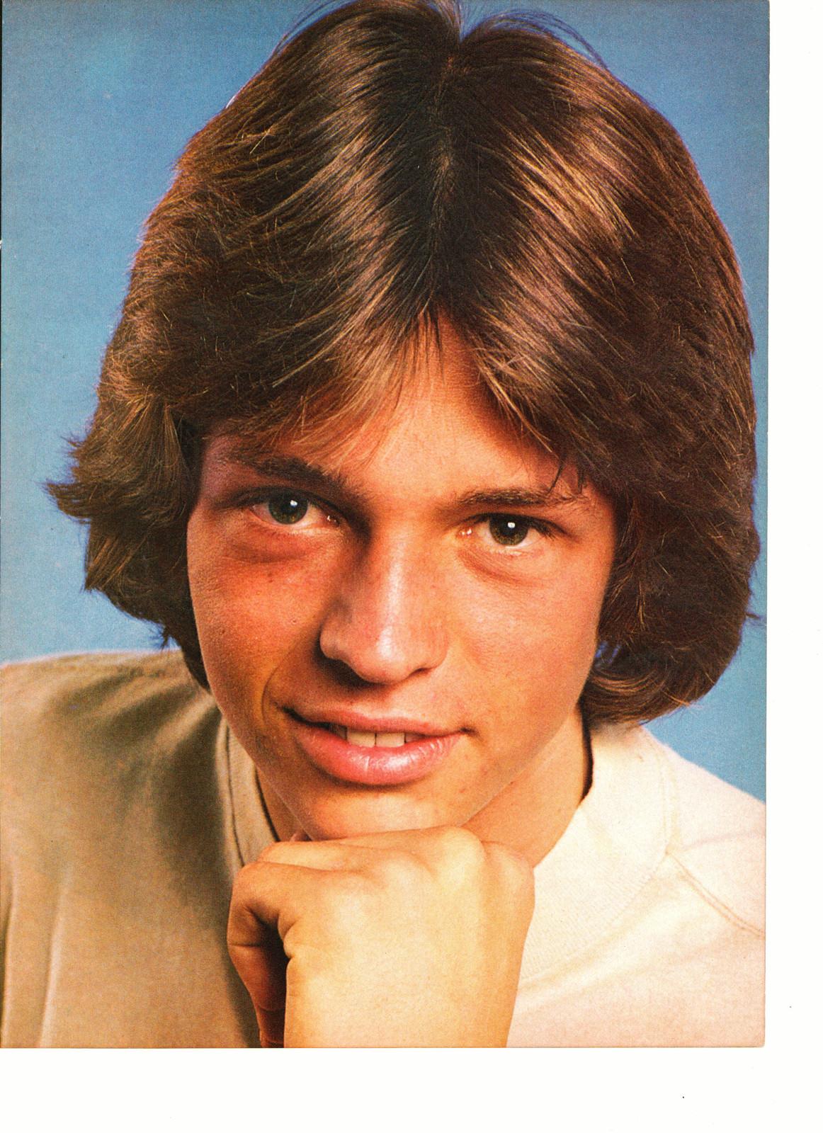 Jimmy Mcnichol Clark Brandon teen magazine pinup clipping smooth jacket 1970's