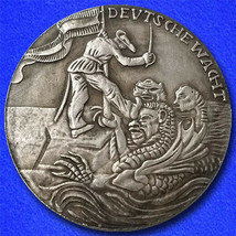 1914 Karl Goetz Medal (Coin) A MESSAGE FOR JAPAN - $6.99