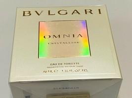Bvlgari Omnia Crystalline 1.35 Oz Eau De Toilette Spray By Bvlgari New Box Women - $35.00