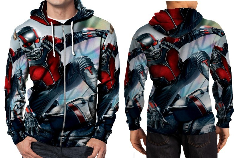 Primary image for Ant Man 2015 image Hoodie Zipper Fullprint Men