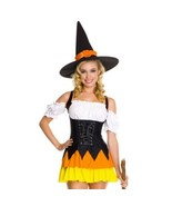 Bruja Sexy Uniforme Halloween Stage Disfraces - $32.52