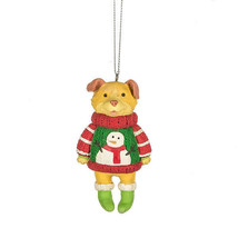 Dog in Ugly Sweater Ornament - $11.95