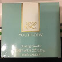 YOUTH-DEW BODY DUSTING POWDER by ESTEE LAUDER 9 OZ. FRAGRANCE VINTAGE  - $63.54
