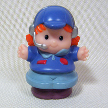 Fisher Price Little People PAULA PILOT Hawaiian Vacation Lil Movers Airp... - $4.50