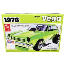 Skill 2 Model Kit 1976 Chevrolet Vega Funny Car 1/25 Scale Model by AMT ... - $60.99