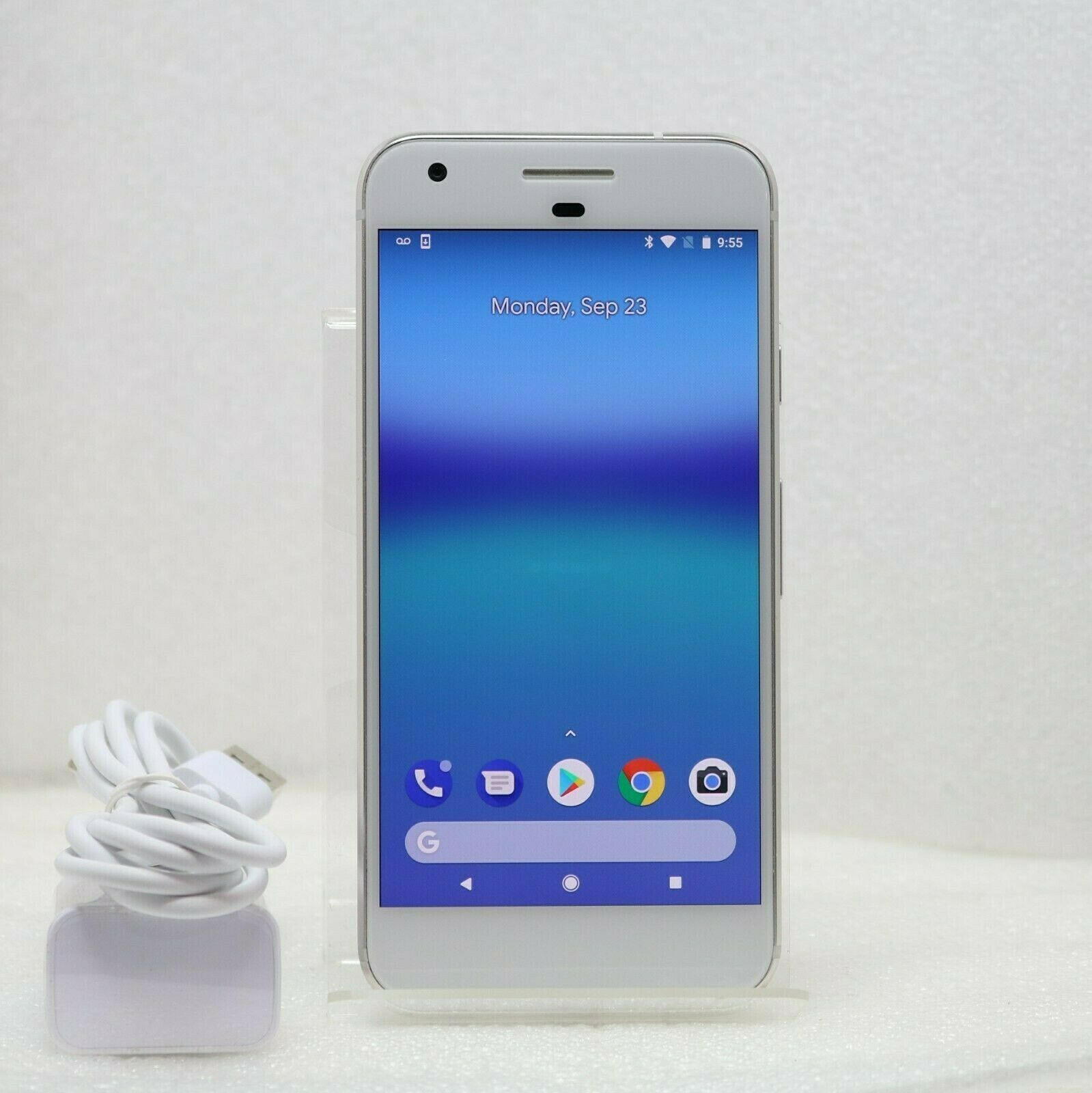 "Google Pixel - 32GB | 4G LTE (FACTORY UNLOCKED) 5.0"" Smartphone - White"