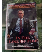 Max Collins IN THE LINE OF FIRE Movie Tie-In Clint Eastwood 1993 Vintage... - $12.00