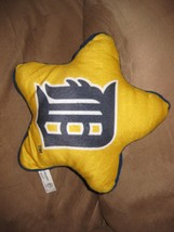 DETROIT TIGERS STAR PILLOW Brand New NWT 2013 MLB Licensed stuffed anima... - $7.99