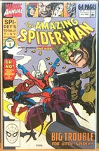 The Amazing Spider-Man #24 Annual Marvel 1990 Ant Man Comic Book VF - $9.99