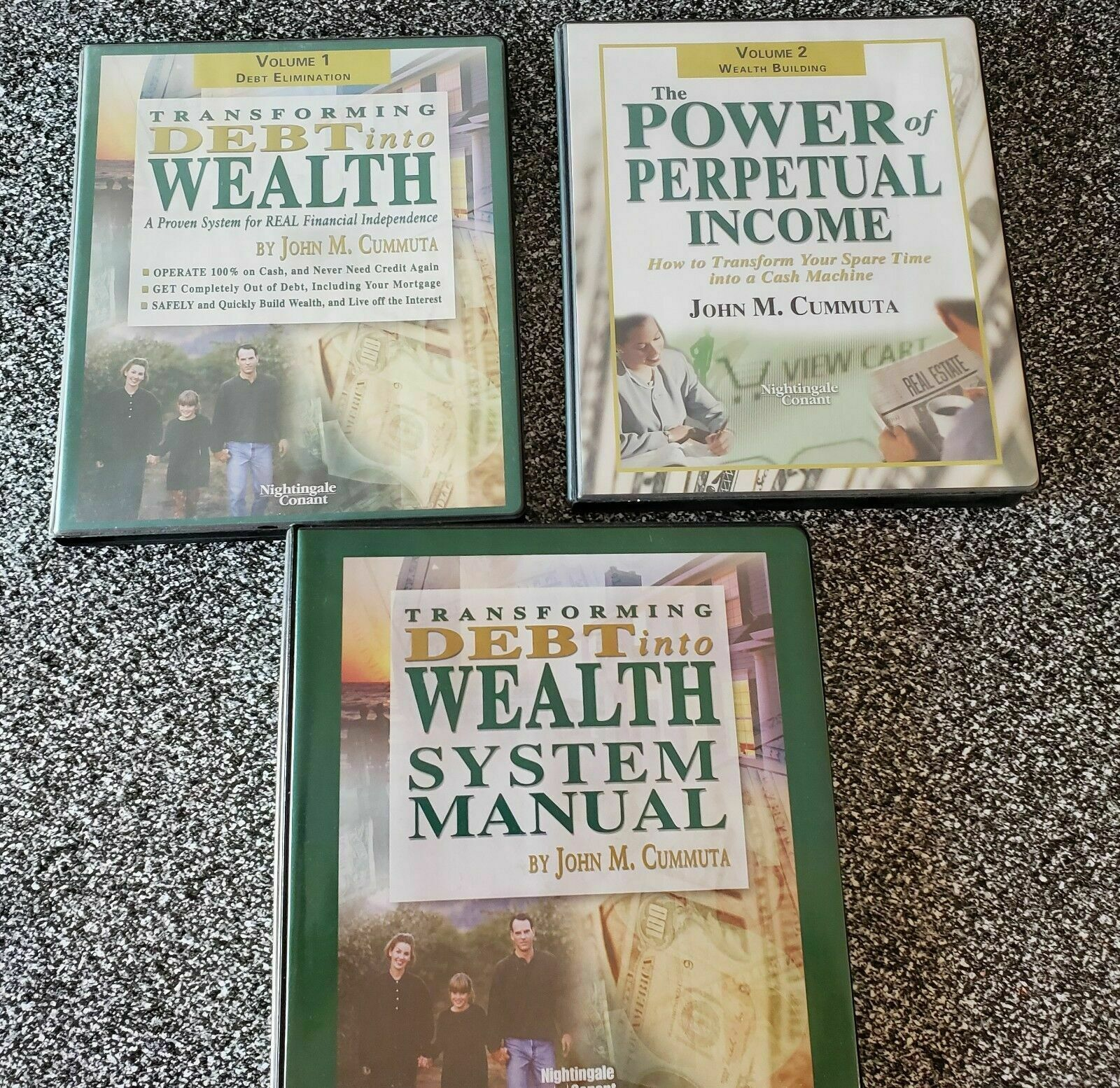 Primary image for Transforming Debt Into Wealth System John Cummuta CDs Manuals Complete