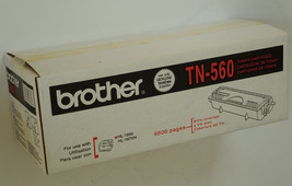 GENUINE BROTHER TN560 BLACK TONER SEALED OEM BOX TN-560 HL1650 HL1670n NOS - $35.59