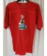 VTG POPEYE Olive Oyl Sunday Comics Strip Cartoon t-shirt Iron-On Adult XL - $27.71