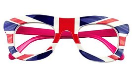 English Flag Glasses Frame for Children Eyeglass Frames Party Decorative Glasses