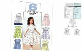 Butterick Patterns B3762 Childrens' & Girls' Dress, Size 6-7-8 - $13.87