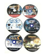 Ps2 Playstation 2 Video Game Lot 6 Game Bundle SSX SSX3 007 NHL Commando... - $29.57
