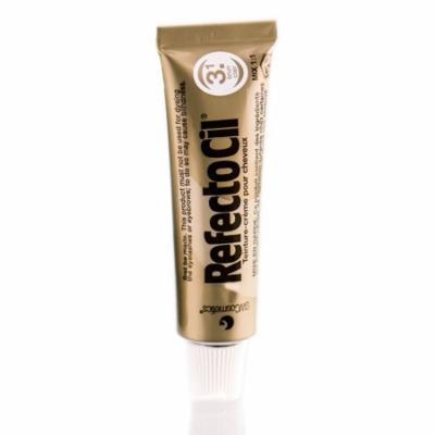 RefectoCil Eyelash & Eyebrow Cream Hair Dye, Light Brown  .5 oz