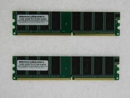 2GB (2X1GB) MEMORY FOR HP PAVILION A367C-B A375C-B A375CB A405.IT A405.UK A405N