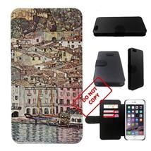 Gustav Klimt art painting Iphone 6s PLUS wallet leather case, iphone 6s ... - $17.81