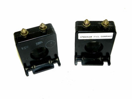 LOT OF 2 EIL 2SFT-201 CURRENT TRANSFORMERS 2SFT201 USED