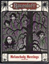 Melancholy Meetings Adventure Book,Ravenloft (TSR) [Paperback] [Jan 01, ... - $11.68