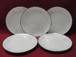 Five (5) Noritake China - Sarita Pattern # 7006 - Bread / Dessert Plates - $21.95