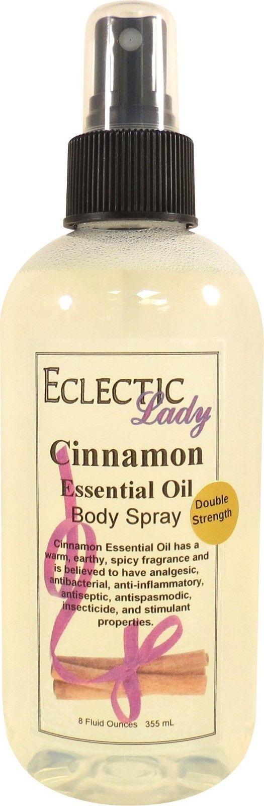 Cinnamon Essential Oil Body Spray