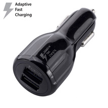 OEM Original For Samsung Dual Port Fast Car Charger for Galaxy S6 S7 Edg... - €10,31 EUR