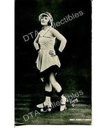 PIN-UP ON ROLLER SKATES!-ARCADE CARD-1920! G - $21.73