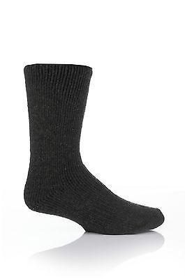 Mens WOOL 2.7 Tog Original Thermal Heat Holders Socks 6-11 uk, 39-45 eur Green