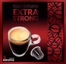 10 Capsules Compatible NESPRESSO!  Karoma Napoletano Extra Strong! - $5.93