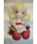 1991 Precious Moments Plush Tammy Limited Edition Doll  - $18.80