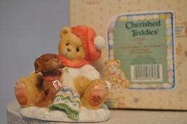 Cherished Teddies - Lee - 272167 - You're A Bear's Best Friend - Bear an... - $11.18