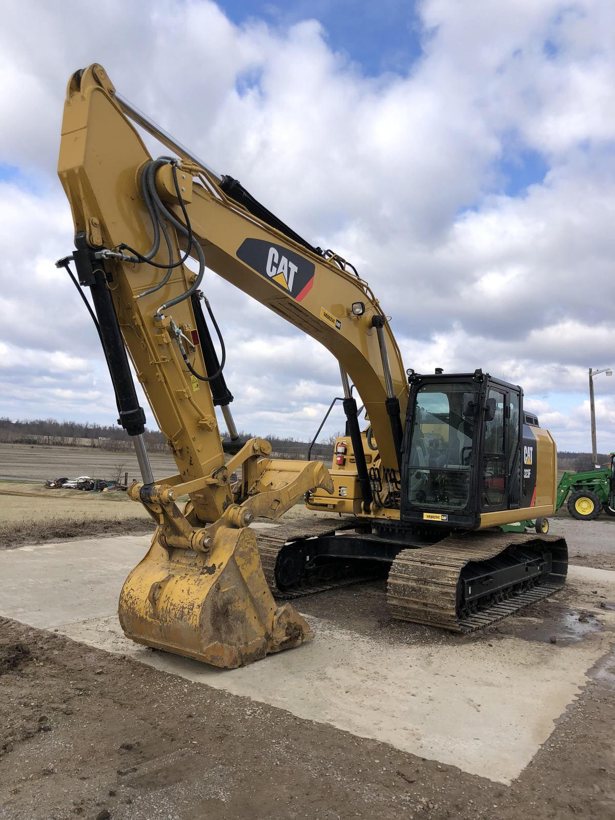 2017 Cat 323F Excavator FOR SALE IN Cunningham, KY 42035