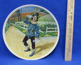 Wizard of Oz Collectors Plate If I Only Had A Brain Scarecrow J Auckland... - $14.84