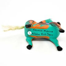 "Handmade Alebrijes Oaxacan Wood Carved Painted Folk Art Horse 3.5"" Figurine image 5"