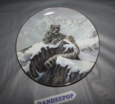 Spirit Of The Mountains Collector Plate Big Cats Of The World Douglas Manning - $19.79