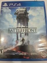 Star Wars Battlefront Ps4 Video Game Playstation 4  - $9.49