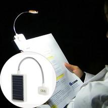 Book Light Mini Solar Power Multi Clip Flexible Adjustable Table Reading... - $14.99