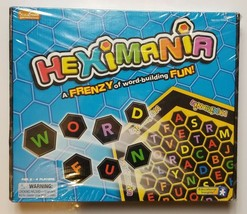 Heximania Board Game Educational Insights Frenzy Word Fun - $16.35
