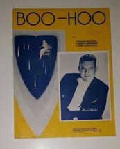 Boo Hoo - 1936 sheet music - Anson Weeks photo on cover - $9.50
