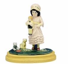 Jan Hagara figurine signature collection Heirloom tradition Julie doll b... - $34.65