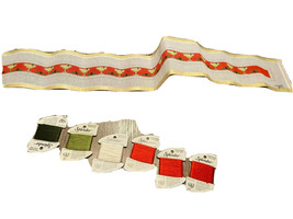 Needlepoint Belt Kit Margaritas Hand Painted Canvas and Yarn PLEASE READ - $39.59