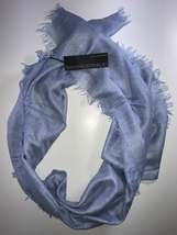 Banana Republic Silk-Cashmere Rectangular Scarf Cornflower Blue - $78.00