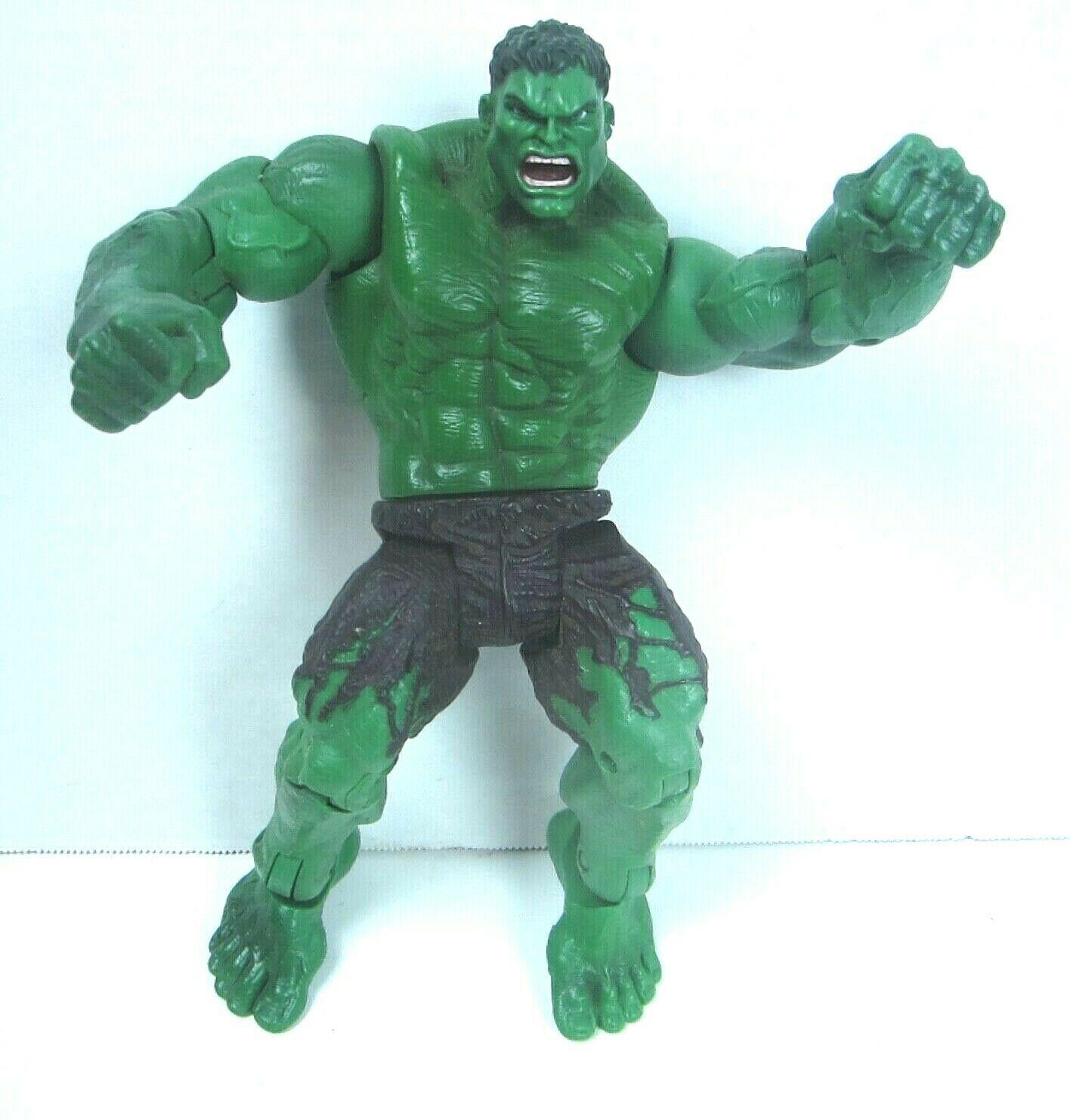 "2003 Hulk the Movie Action Figure Universal Marvel Throwing Smash Arms 8"""