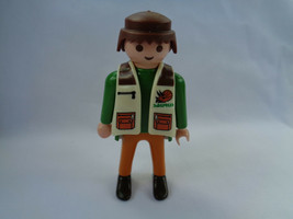Vintage 1994 Playmobil Male Man Saurus Team Adventure Figure - $2.55