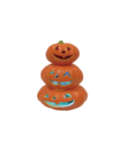Tottaly Ghoul Three Pumpkin Light up Halloween Decoration - £10.66 GBP