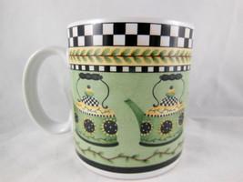 Debbie Mumm Coffee Mug Cup Sakura Sunny Country Kitchen 2000 - $8.90