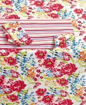 "Homewear Home Summertime Floral Tablecloth 60"" x 104"" Oblong Water Resis... - €22,25 EUR"