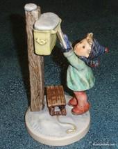 """Letter To Santa"" Goebel Hummel Figurine #340 TMK5 ADORABLE COLLECTIBLE ... - $154.23"